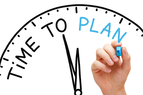 Blog planning in ERP