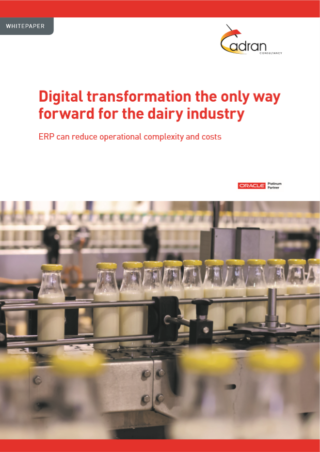 Whitepaper Digital transformation in dairy industry