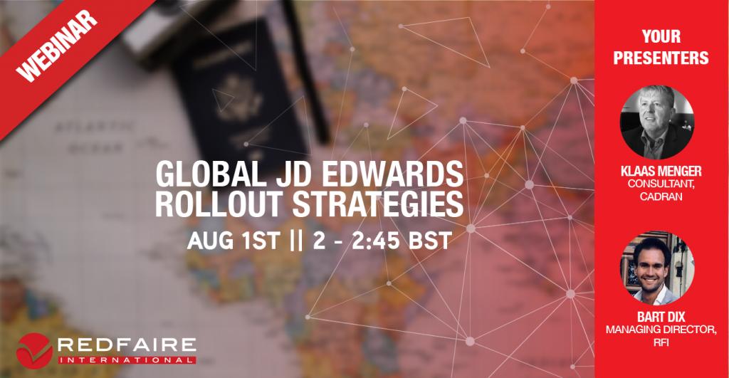 Webinar JD Edwards Global Rollouts